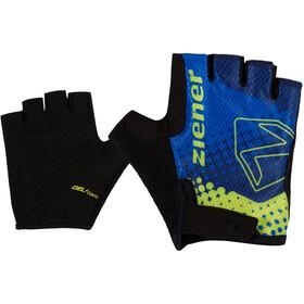 Ziener Curto Bike Gloves Kids, bleu